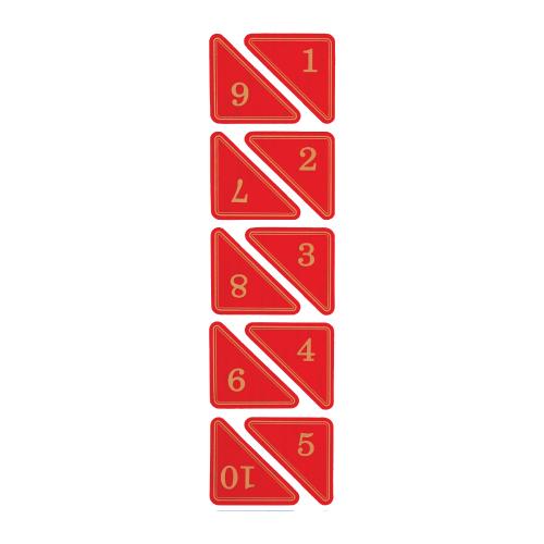 번호판(삼각)빨강-51번 이후로는 제작입니다. 문의주세요