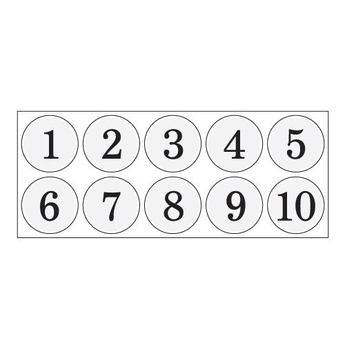 번호판(흰색)
