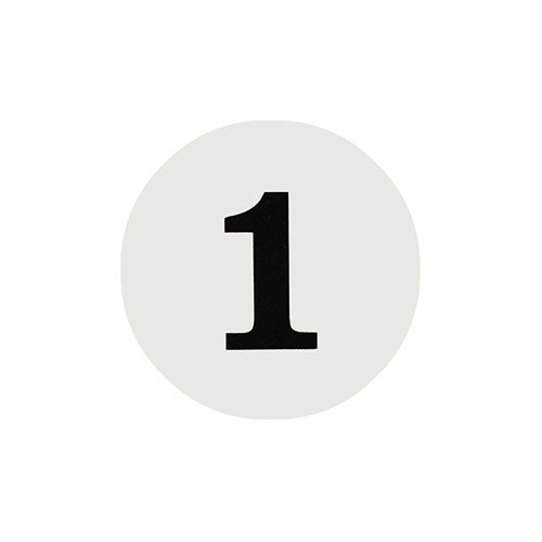 번호판(원형)