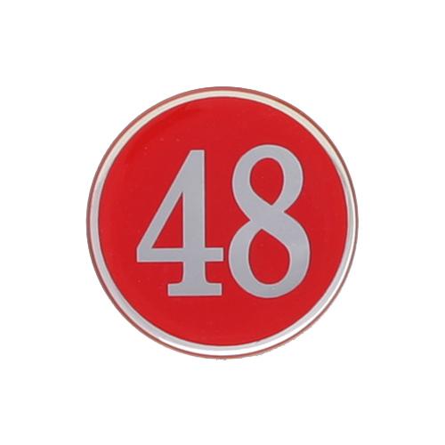 번호판(빨강)