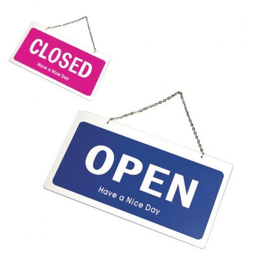 OPEN/CLOSED(양면)