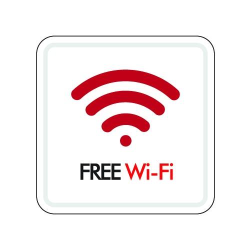 FREE Wi-Fi(몰딩)