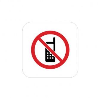 휴대폰사용금지(몰딩)
